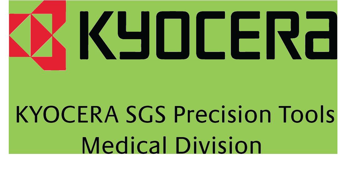 Kyocera SGS Precision Tools Medical Division Logo